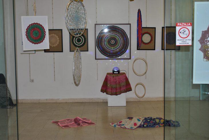 Izložba radova Jasmine Ivanković u Centru za kulturu Lazarevac